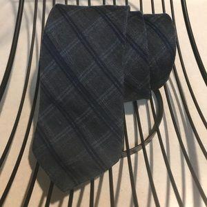 Calvin Klein Accessories - Spring summer Calvin Klein blue plaid tie